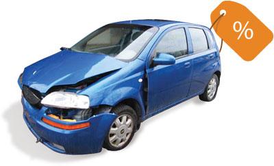 Vehicle price tag