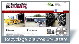 Recyclage d'autos St-Lazare