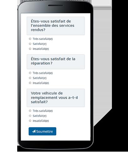 ProgiSync Feedback échantillon sondage