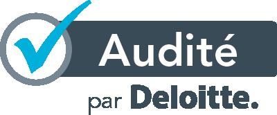 Audité par Deloitte