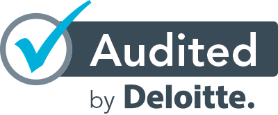Audited by Deloitte