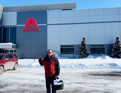 Progi Visits the Axalta Training Centre